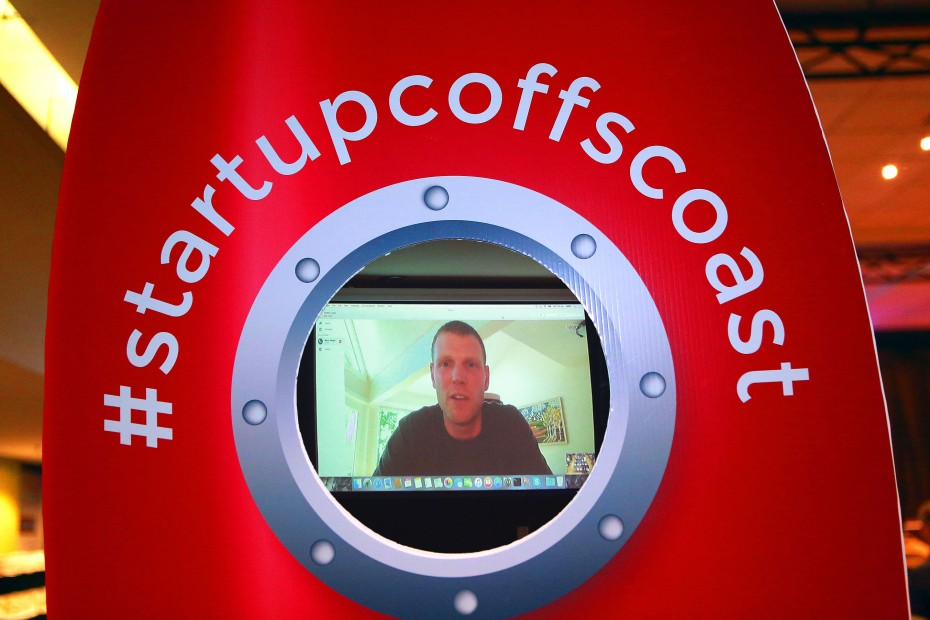 Marc Nager in the #startupcoffscoast rocket