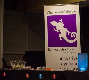 Big thanks to our sponsors, Chameleon Software