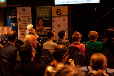 The audience was captivated by our speakers at Startup Coffs Coast