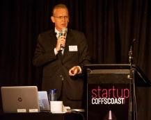 Rick Chisholm from Innovest SME was a popular speaker