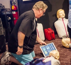 Howarths Business Services demonstrated the very latest in app-controlled First Aid devices