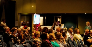 Very interested audience at Startup Coffs Coast