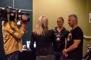 Kickstart Motorbike Tours exhibiting in Startup Alley