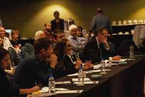 The judges were enthralled at Startup Coffs Caost